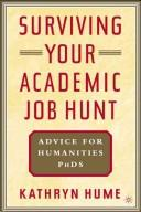 Download Surviving your academic job hunt