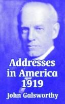 Addresses in America 1919