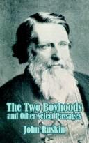 The Two Boyhoods and Other Select Passages