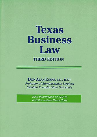 Download Texas business law