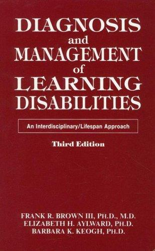 Download Diagnosis and management of learning disabilities