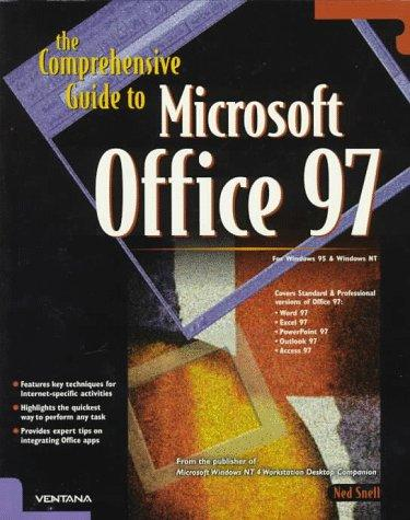 Download The comprehensive guide to Microsoft Office 97