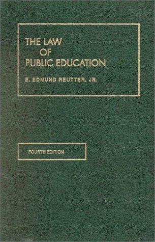 Download The law of public education