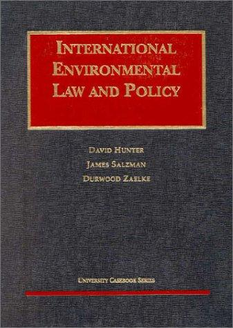 Download International environmental law and policy