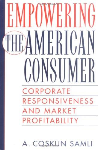 Download Empowering the American Consumer