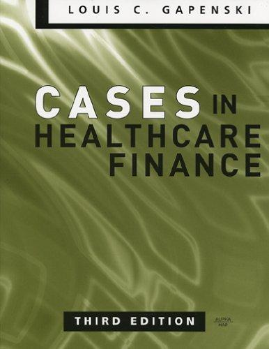 Download Cases in healthcare finance