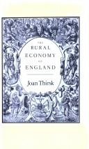 Download The rural economy of England