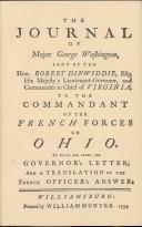 The Journal of Major George Washington: An Account of His First Official Mission, Made as Emissary from the Governor of Virginia to the Commandant of the French Forces on the Ohio, Oct. 1753-Jan. 1754, Washington, George; James R. Short (Editor); Thaddeus W. Tate Jr. (Editor); Richard J. Stinely (Illustrator)