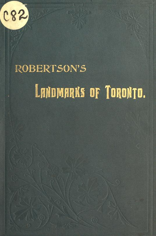 Robertson's landmarks of Toronto by