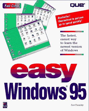 Easy Windows 95 by Sue Plumley