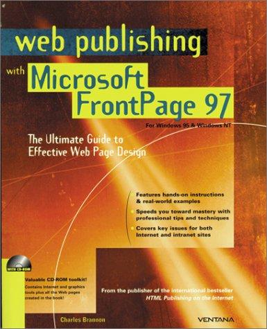 Web publishing with Microsoft FrontPage 97 by Charles Brannon