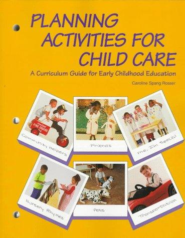 Planning activities for child care